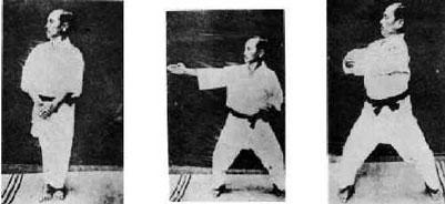 Funakoshi Dai Sensei´s Naihanchi